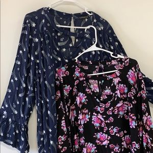 2 for $20 Lane Bryant Shirts Plus Size 24